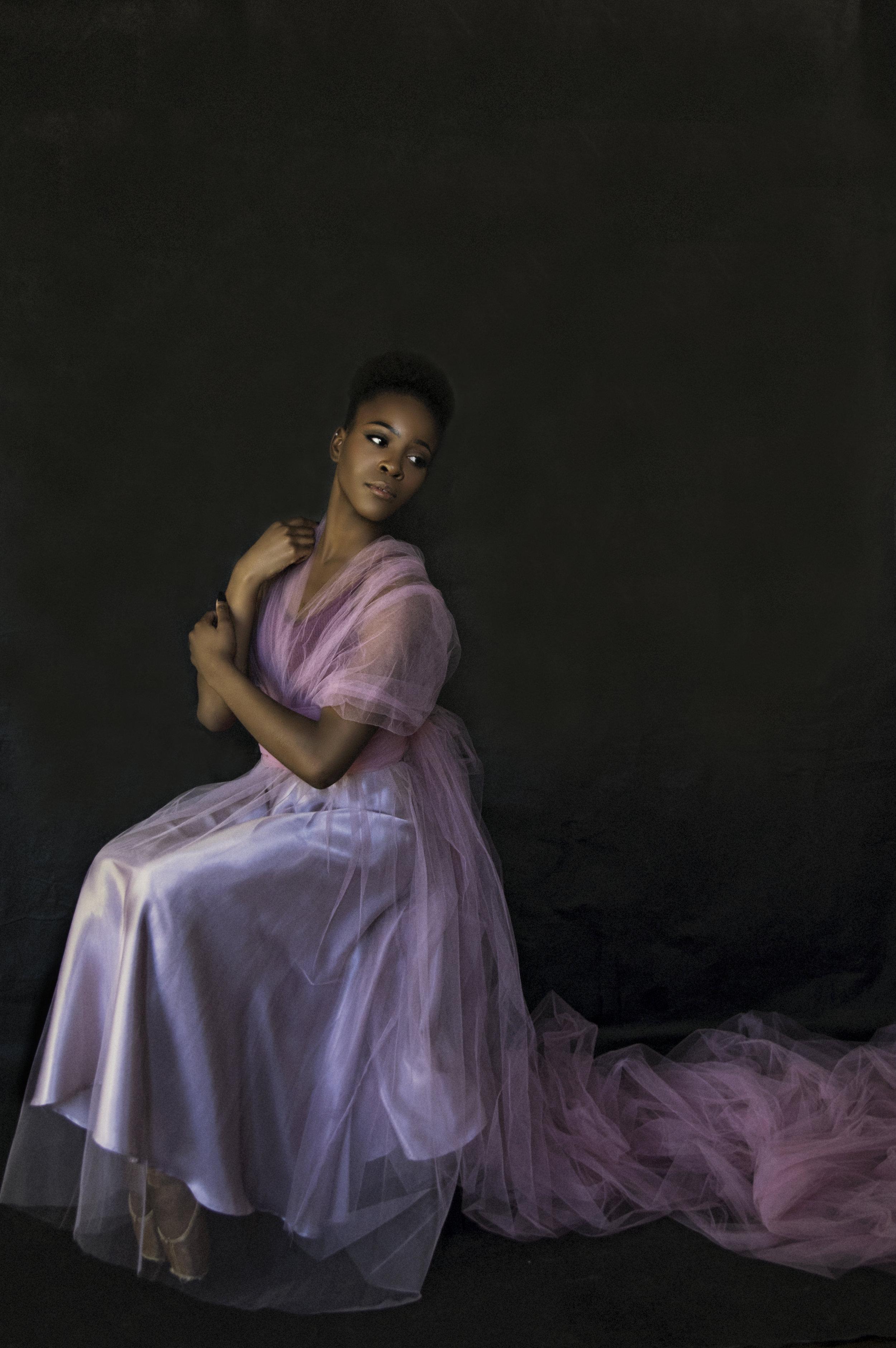 Dancers Dramatic Portrait
