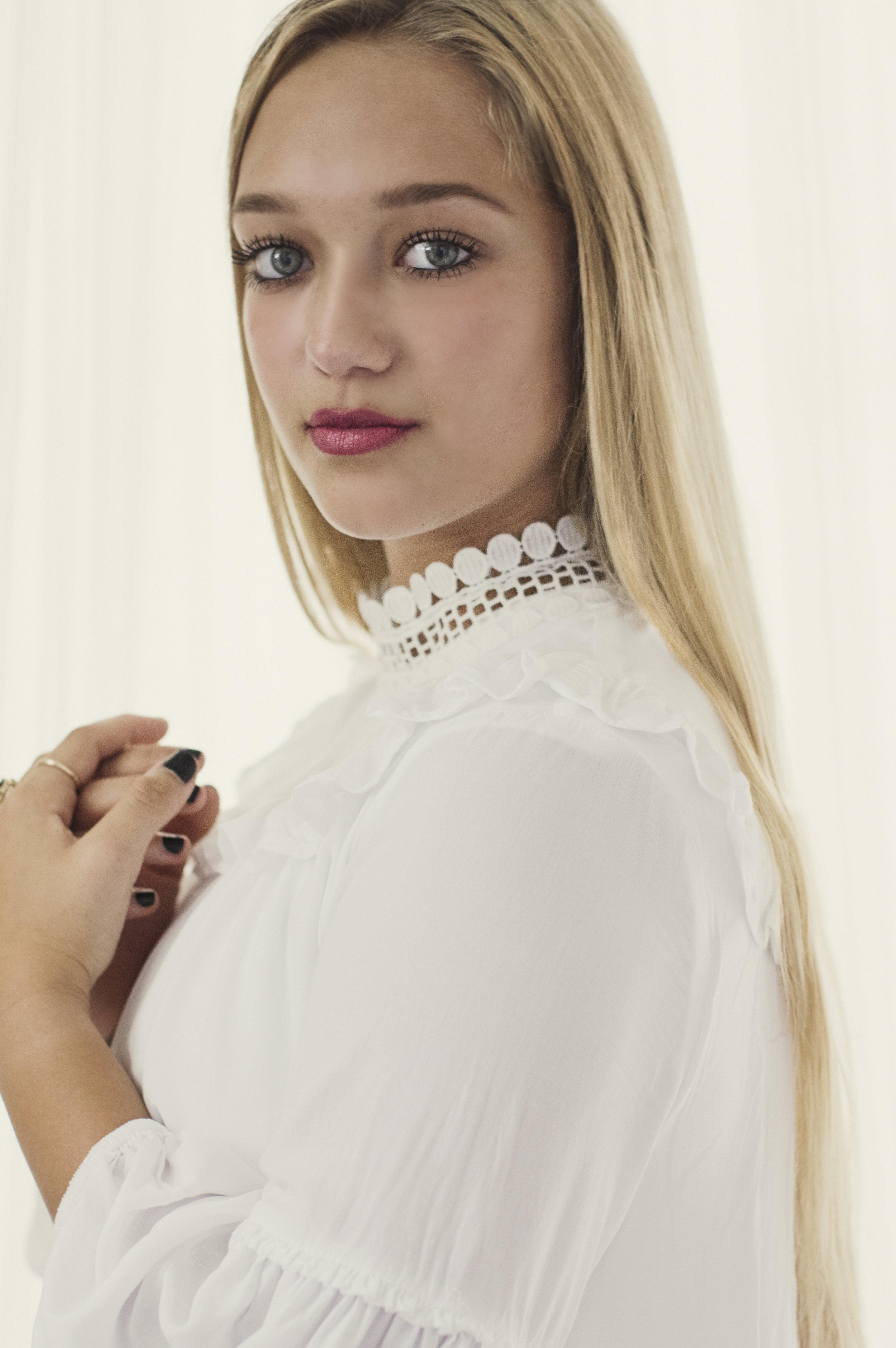 Heirloom Portrait of a Teenaged Girl