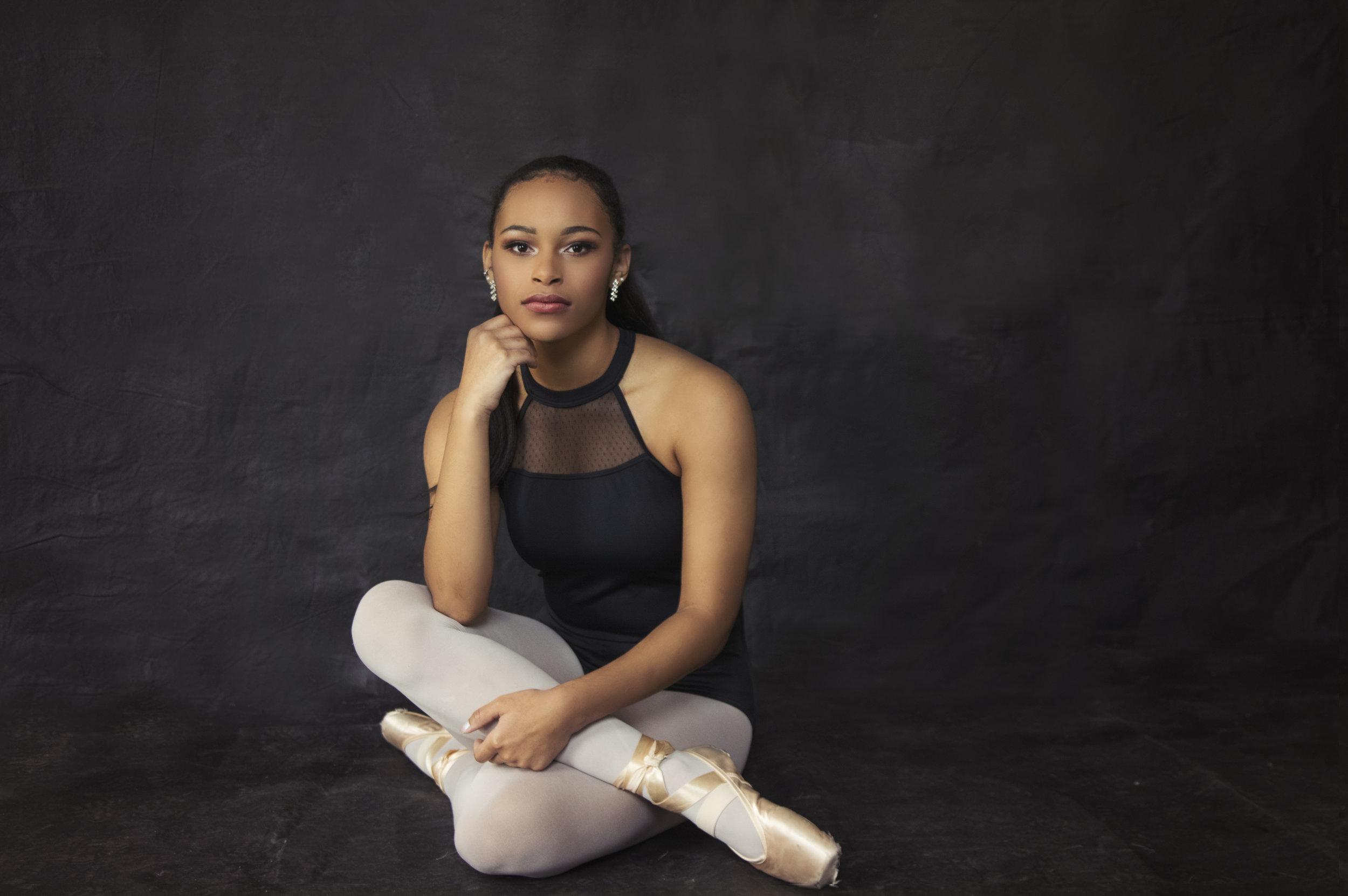 Heirloom Portrait of a Ballerina