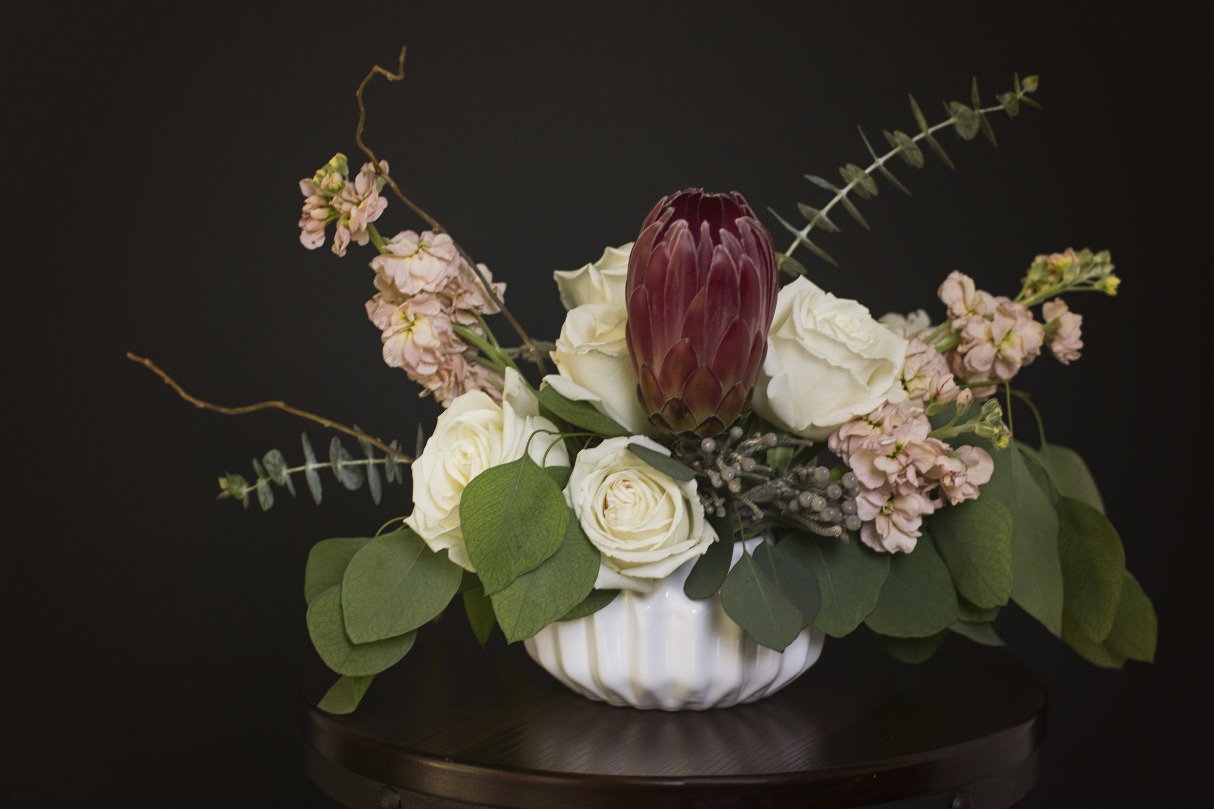 Portrait of a floral arrangement