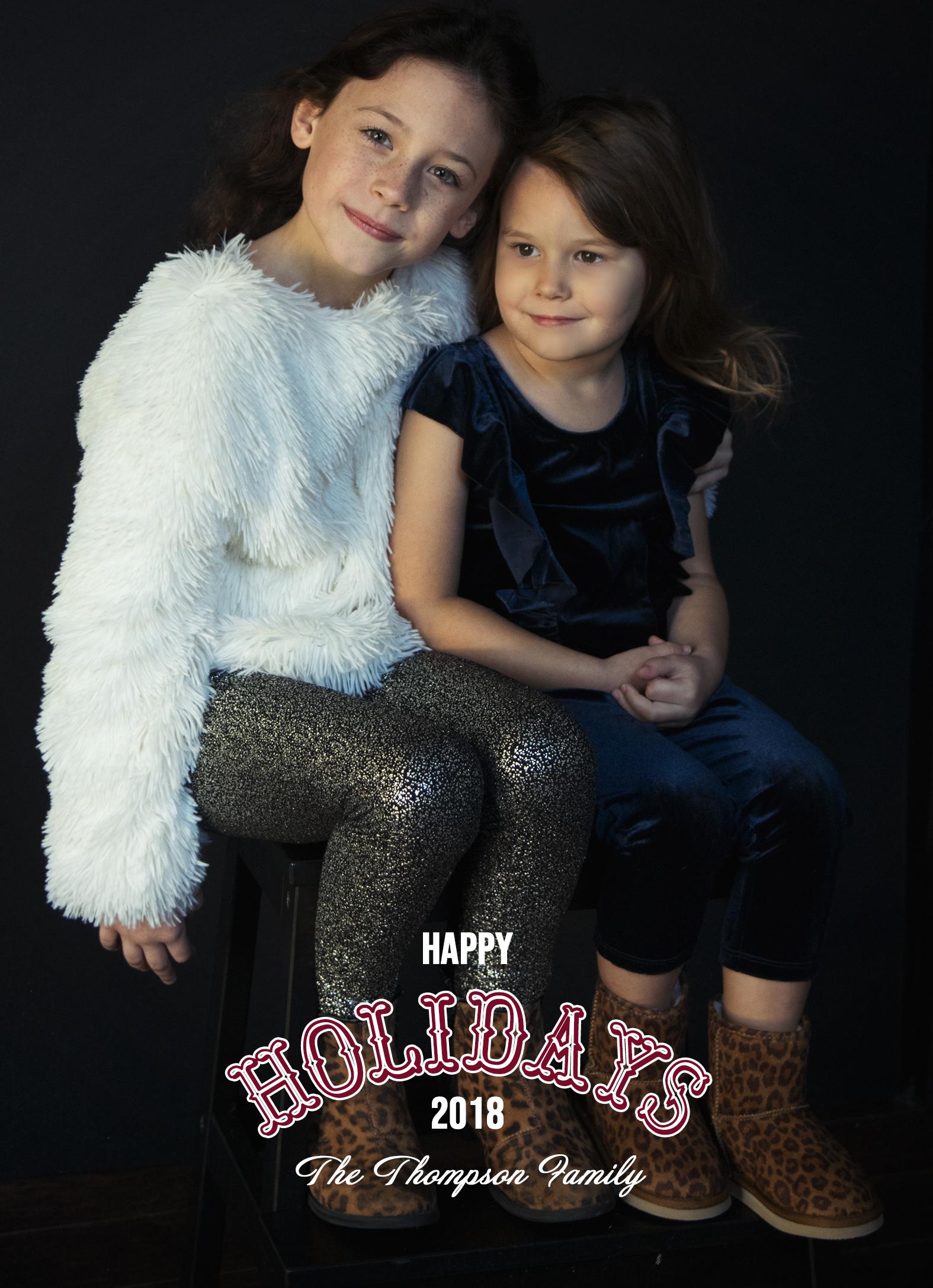 Holiday Portrait Session | Jackie Daily Studio | Monroe