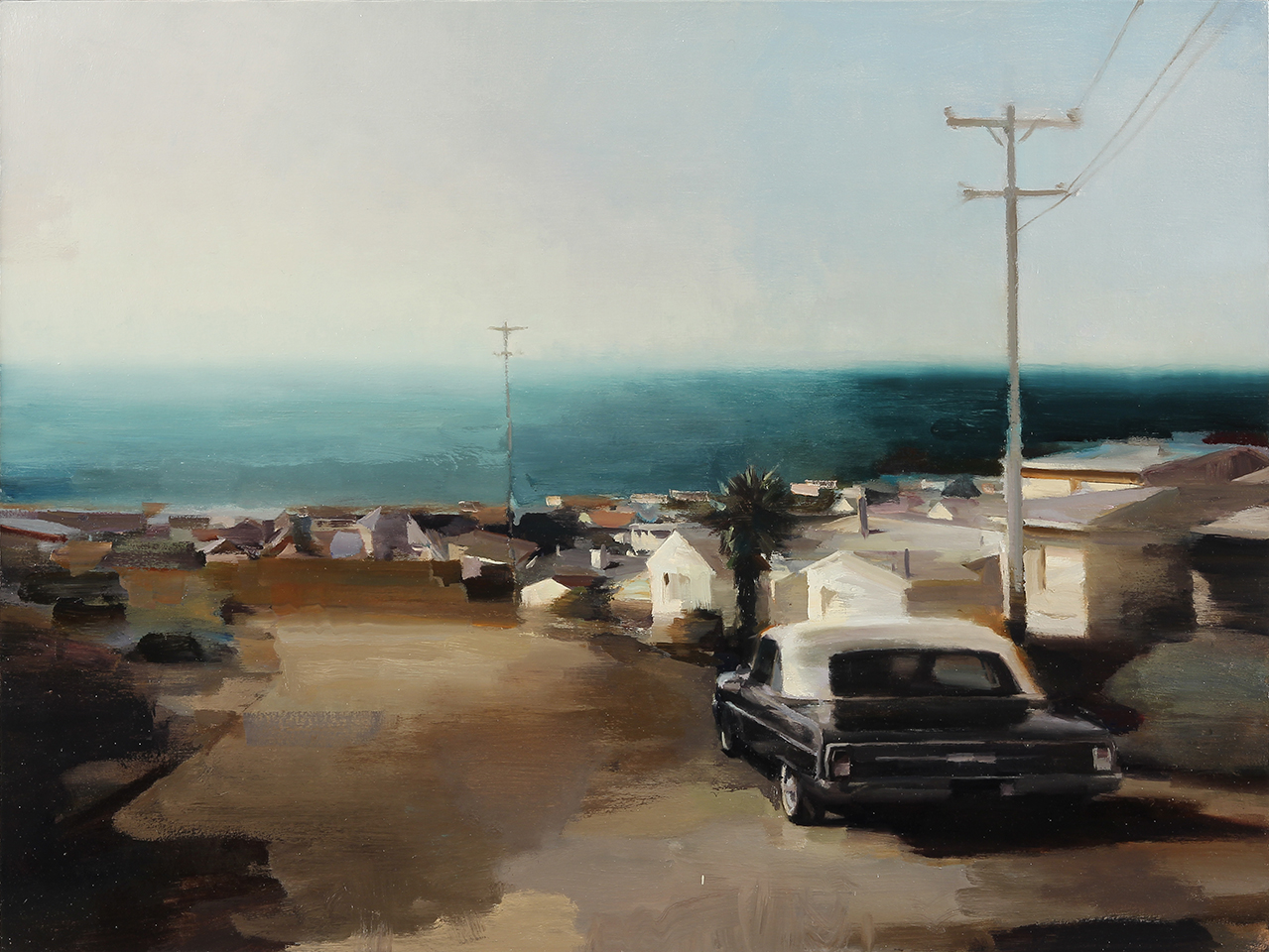 "Pacifica 30"" X 40"" oil on canvas"