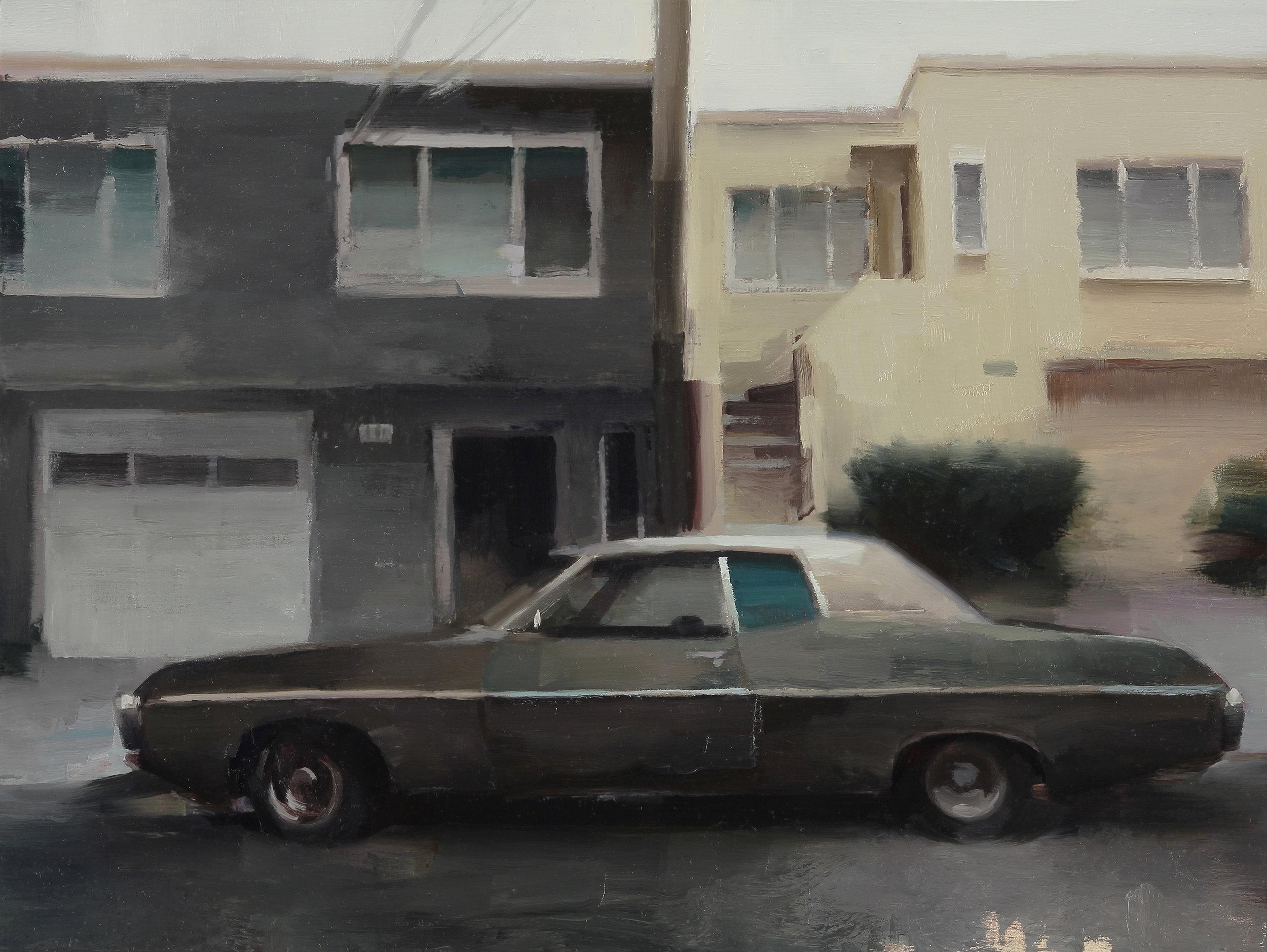 "1969 12"" X 16""  oil on panel"