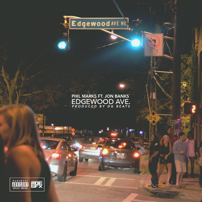 """Phil Marks  has a joint for the ladies. It's called  """"Edgewood Ave""""  and if your from  Atlanta , you get it.  Phil Marks  has a unique voice. Reminds you of that early 90's sound. The record talks about seeing so many pretty women in the city. It features  Northside Atlanta  artist  Jon Banks . Showcases another side of Jon Banks  Juug  brand. All around the record sounds radio ready. Atlanta this one for you. Check out  """" Edgewood Ave""""  streaming below."""