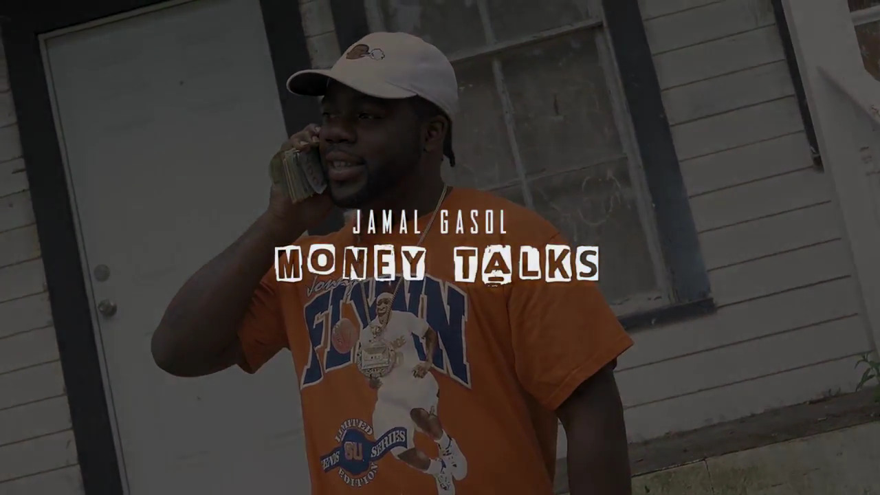 """New York rapper Jamal Gasol has returned. This time he's back with a visual for his record """"Money Talks"""". He looks and feel like money right now. With 2018 slowly approaching the sky is the limit. Jamal brings back that gritty New York east coast sound. Make sure you check this one out below.."""