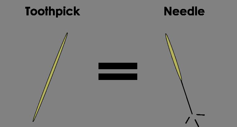 Toothpick Acupuncture