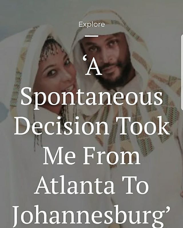 Check out the article below on how our guy @triple_t_cb went from living in Atlanta, GA to Johannesburg, South Africa 🤯  https://legacy.travelnoire.com/a-spontaneous-decision-took-me-from-atlanta-to-johannesburg/