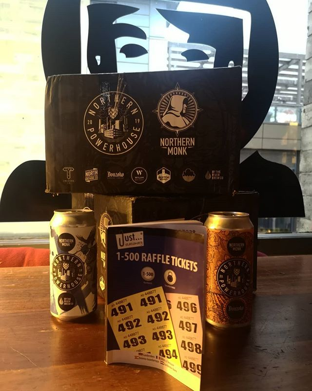 WINNING THINGS!  We're raffling our last two Northern Powerhouse packs off with the profits going to charity. Winners to be announced at our Halloween party 🎃 50p a ticket £2 a strip. Don't miss this.
