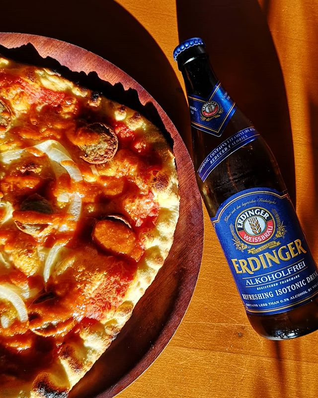 BACK BY POPULAR DEMAND. Your winner is CURRYWURST. Pair with an erdinger alkoholfrei for all your stoptober needs