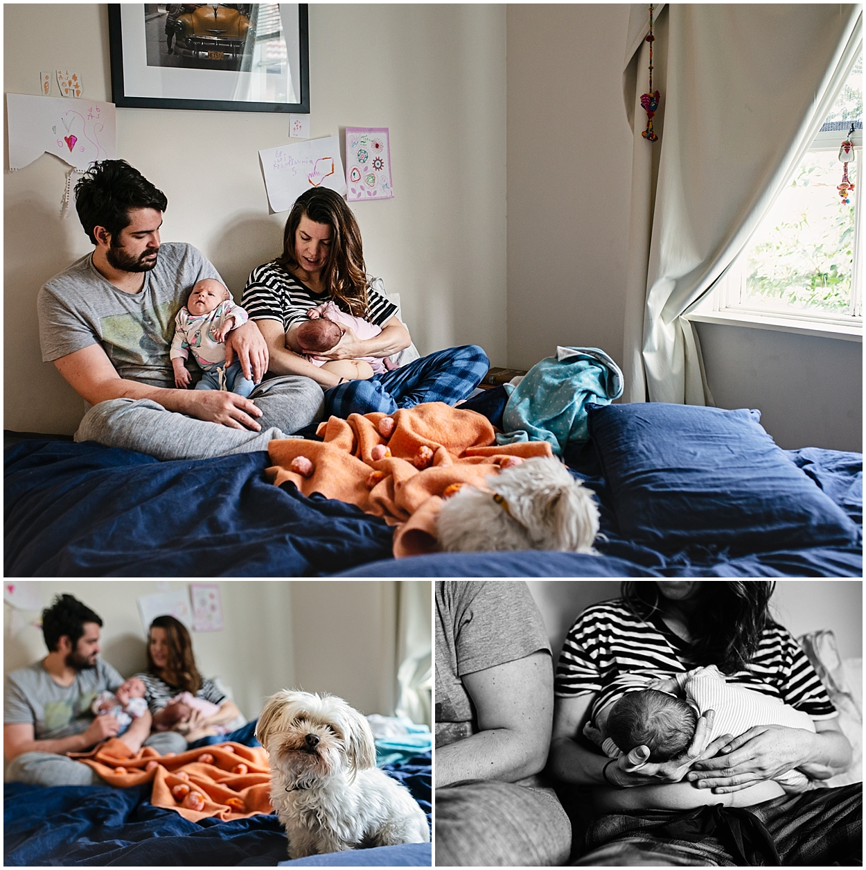 small space - big love | melbourne newborn lifestyle photographer | clare kinsey photography