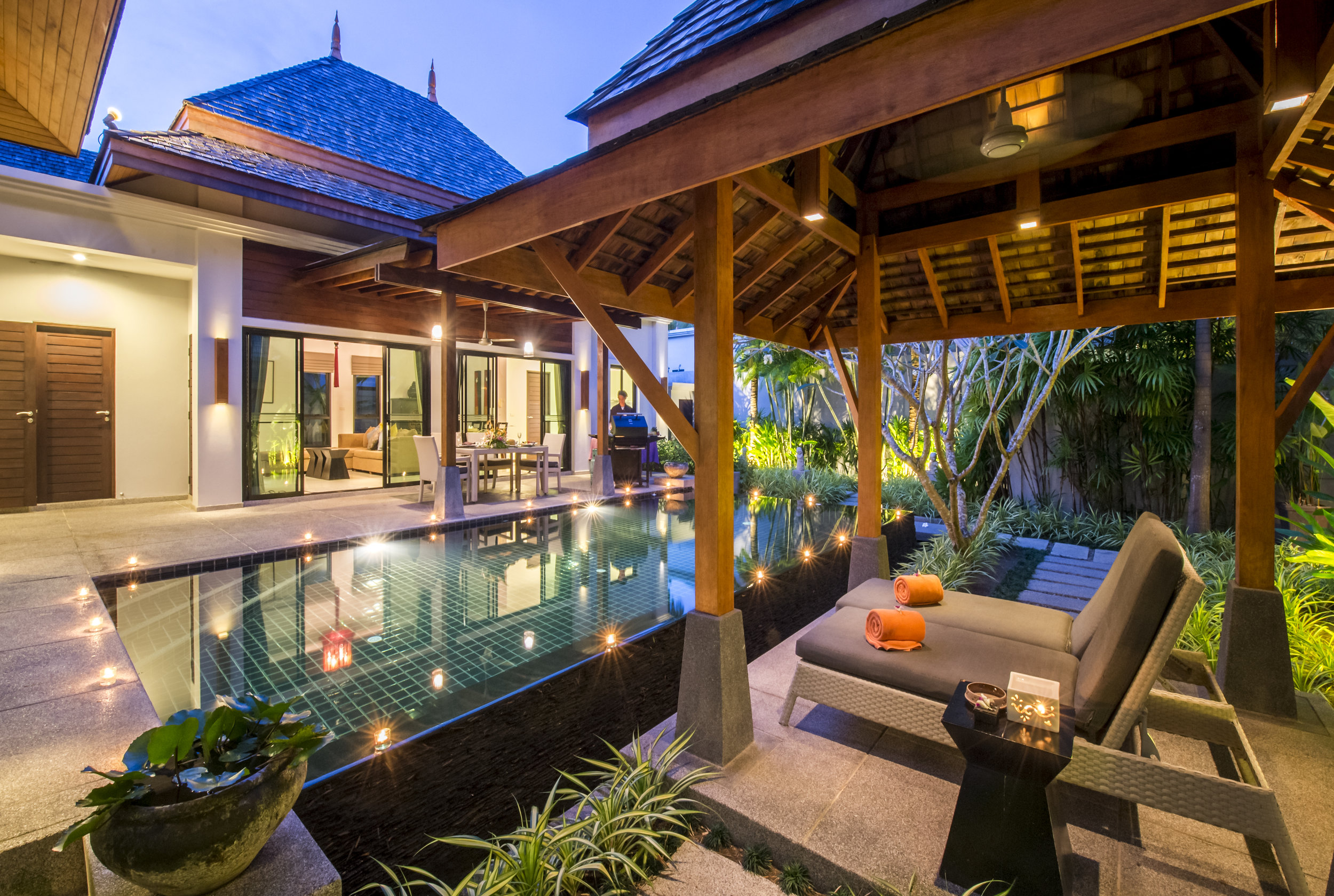 Terrace, Garden and Pool
