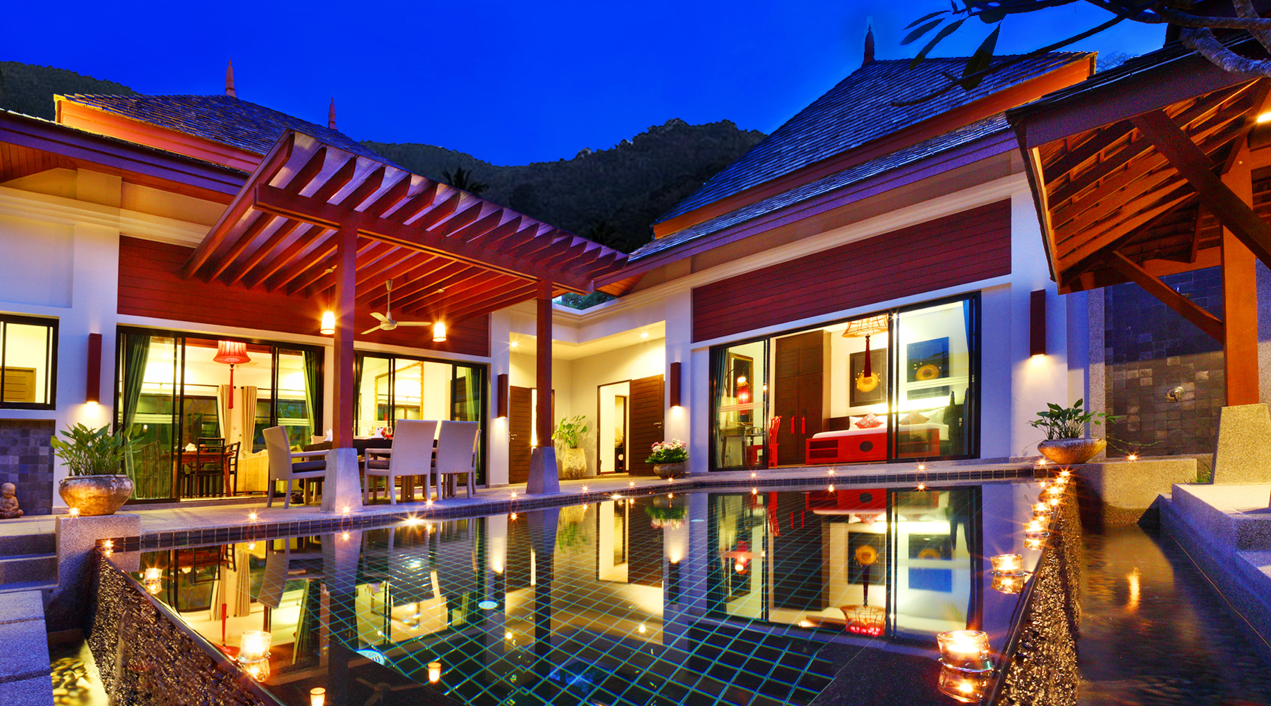 Three Bedroom Private Pool Villa