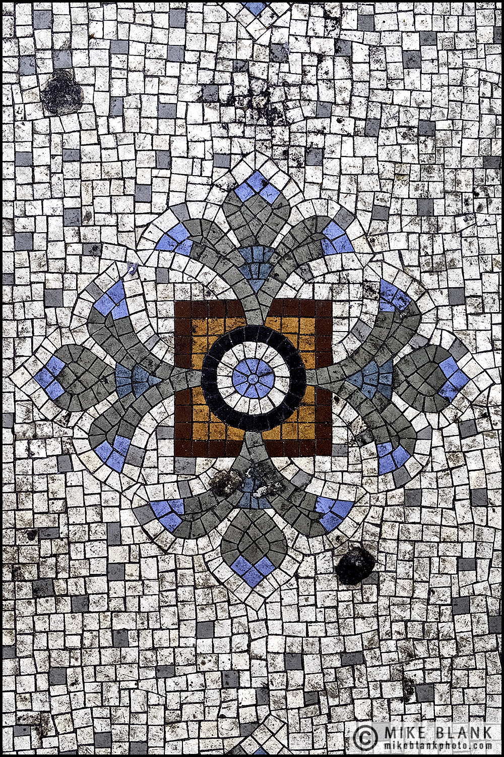 Pub mosaic, London 2016