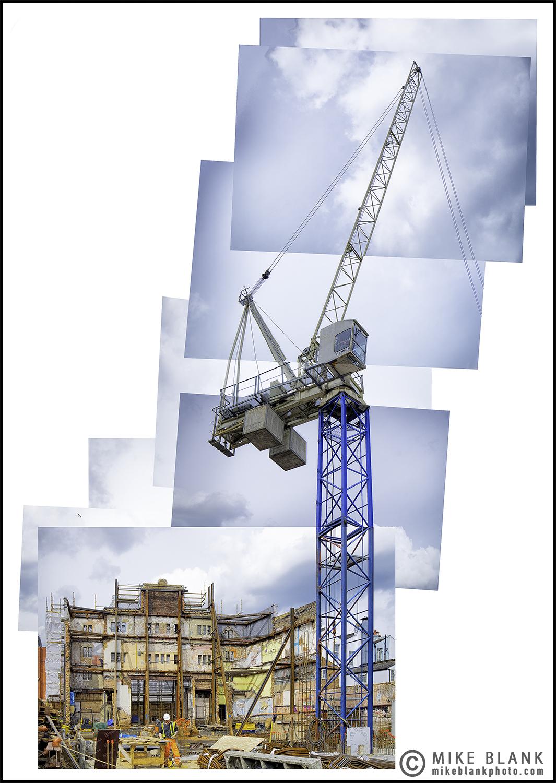Construction site, Watford 2016