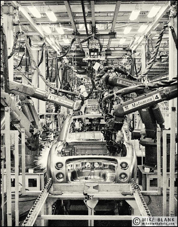 Nissan Figaro car production line, #3 Yokohama 1991
