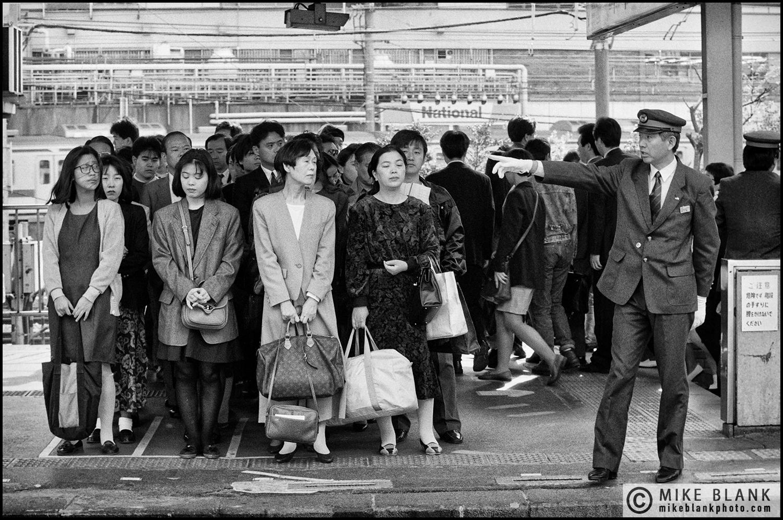 Tokyo subway, 1991