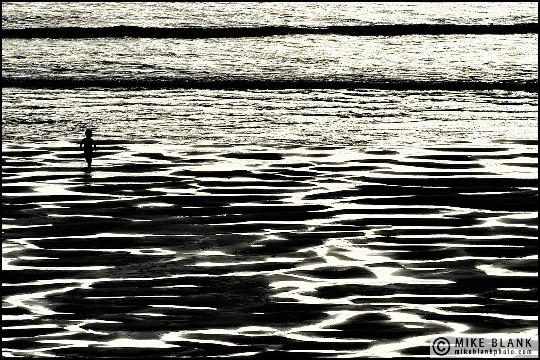Boy on the beach #2, Cornwall 2013