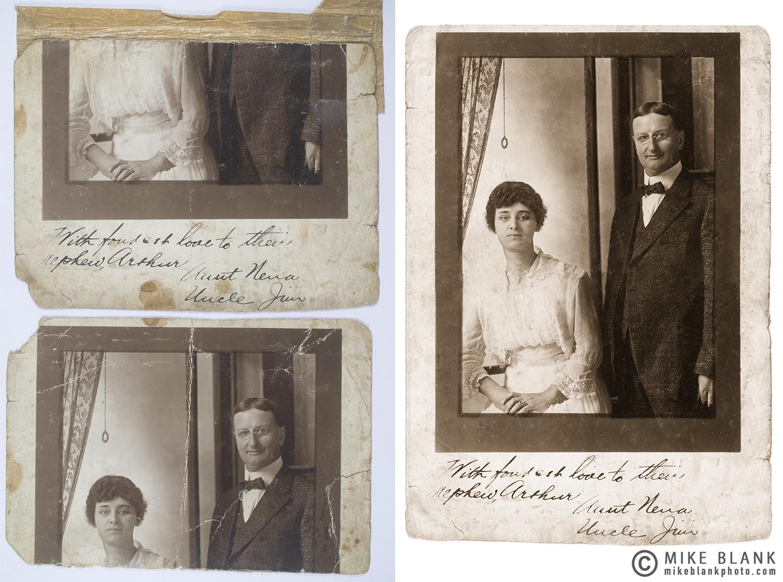 Portrait - Digital restoration