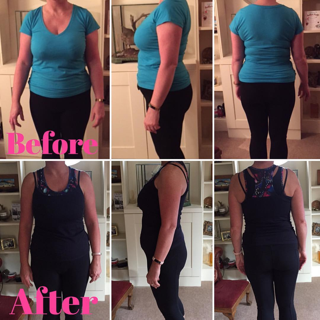 10 session progress - 1 stone and 40 cms lost!