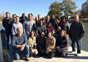 Some of the CONSERVE Mid-Atlantic team members