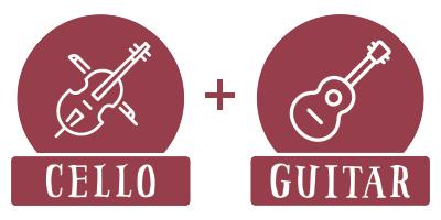 Bow N' Banjo: Cello/Guitar