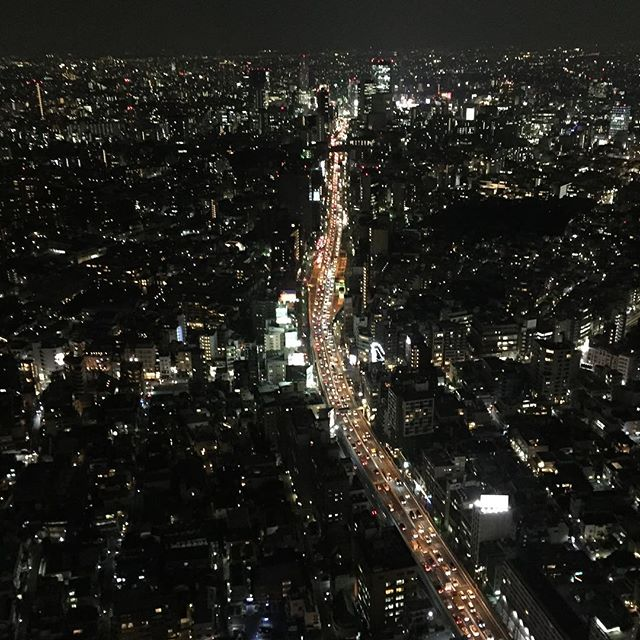 From Tokyo Sky View #roppongi