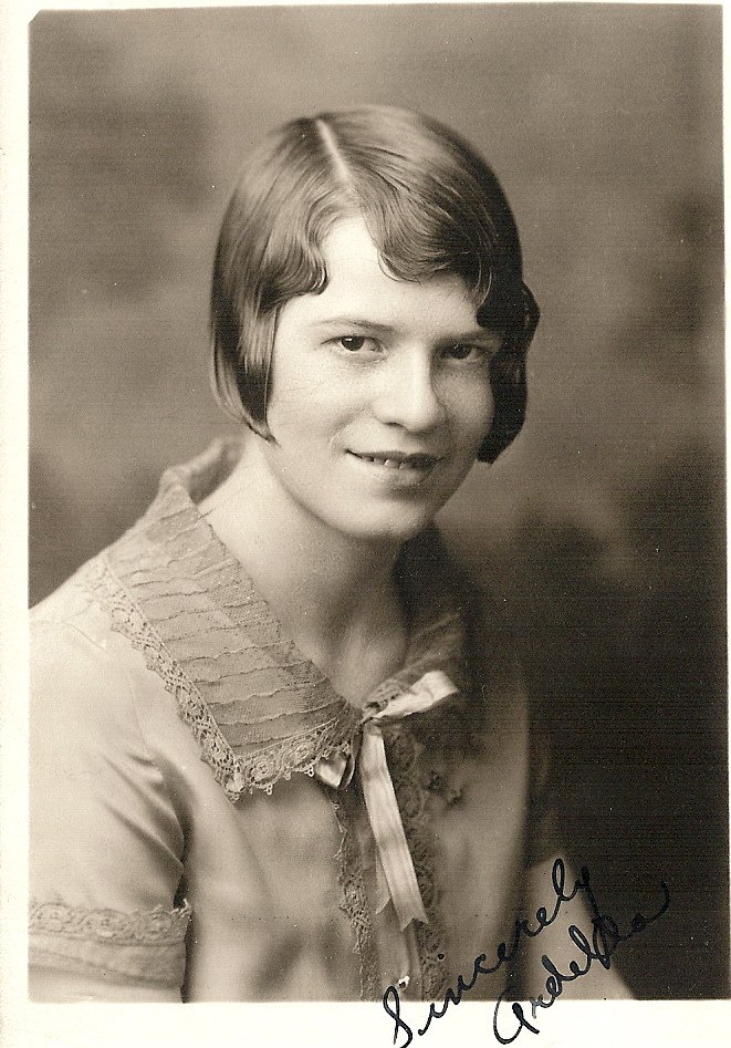 Ardella in her late teens.