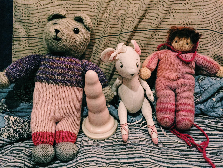 unicorn with stuffed animals.jpg