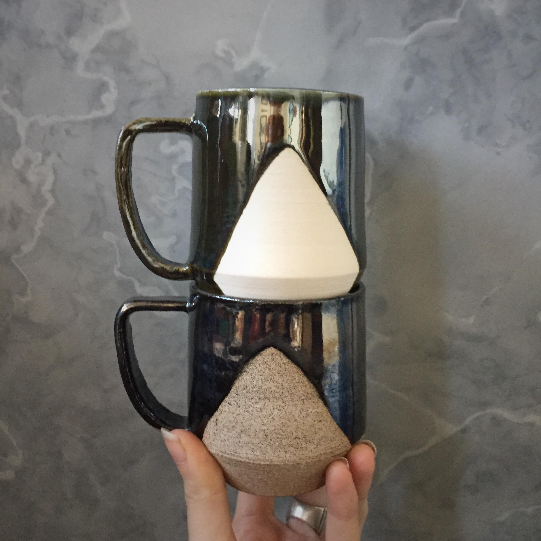 Triangle Small Mugs