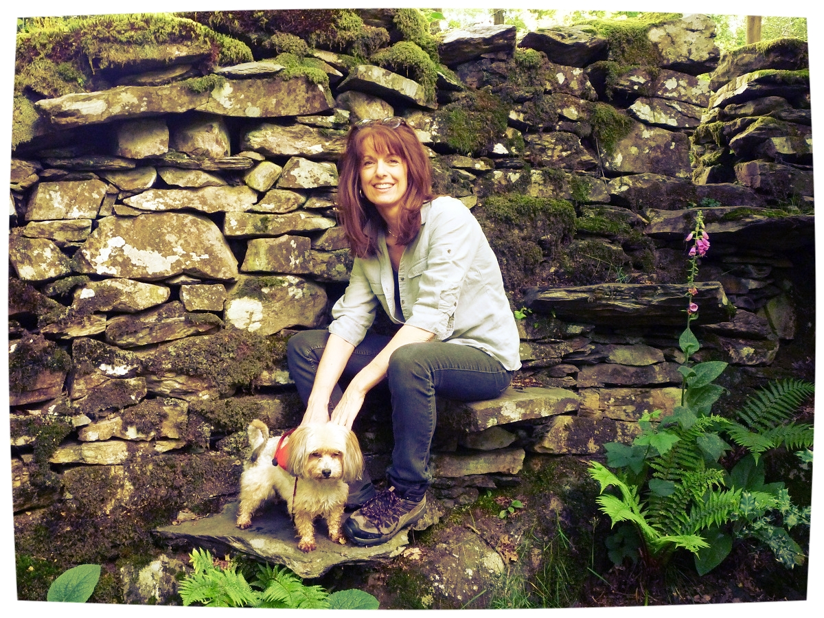 Cathryn and Mindy in their favourite environment!