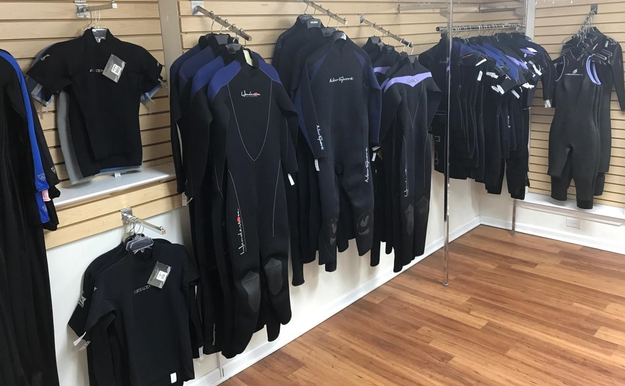 Wetsuits -