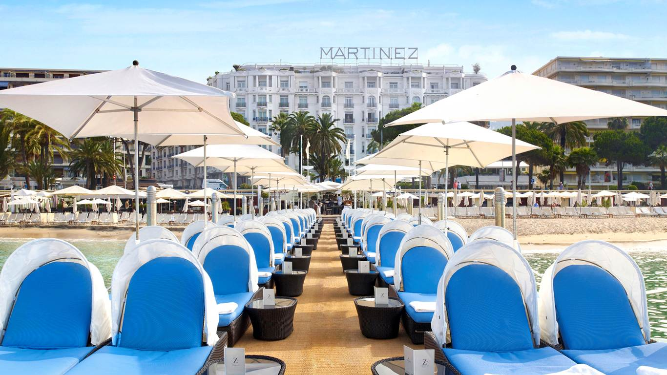 Z Plage, Cannes.