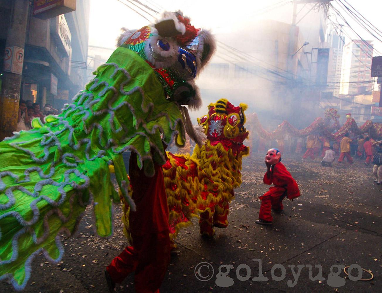 Dragon Dance  Location: Binondo, Manila, Philippines
