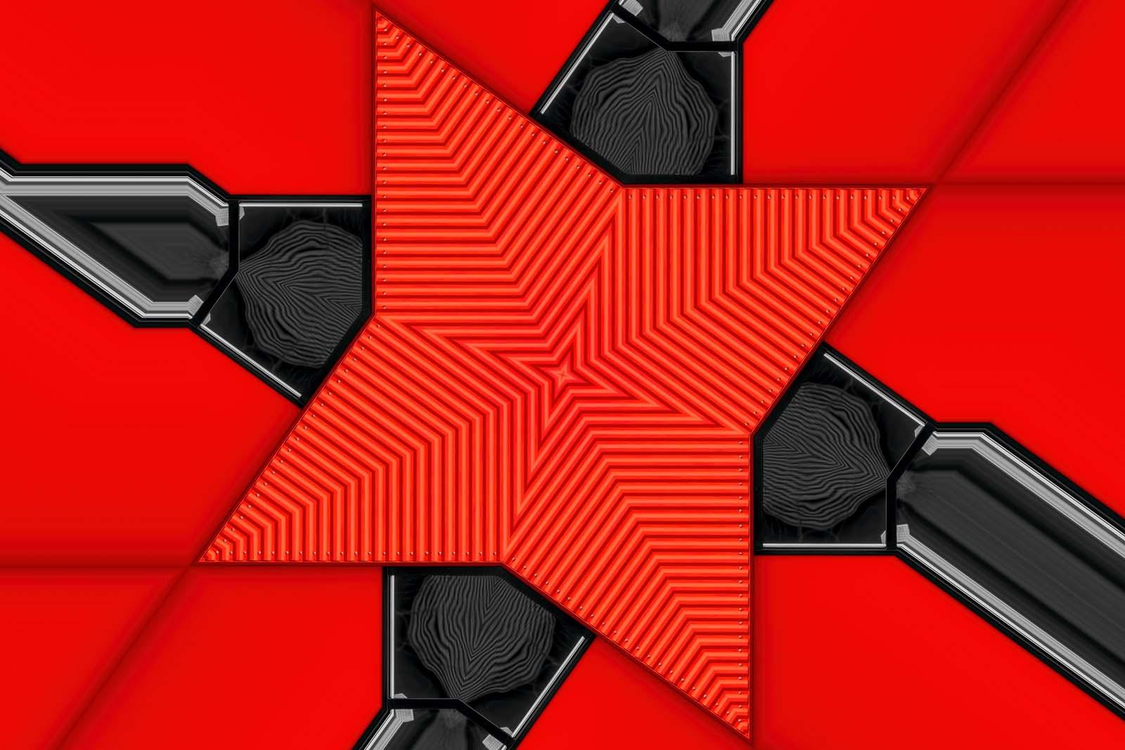 Red Kaleidoscope