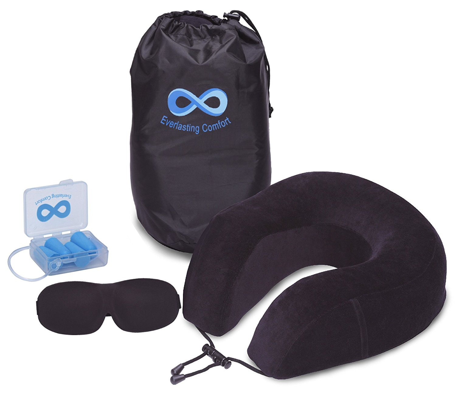 Matt Van Swol Sleep System on Planes, Travel Pillow