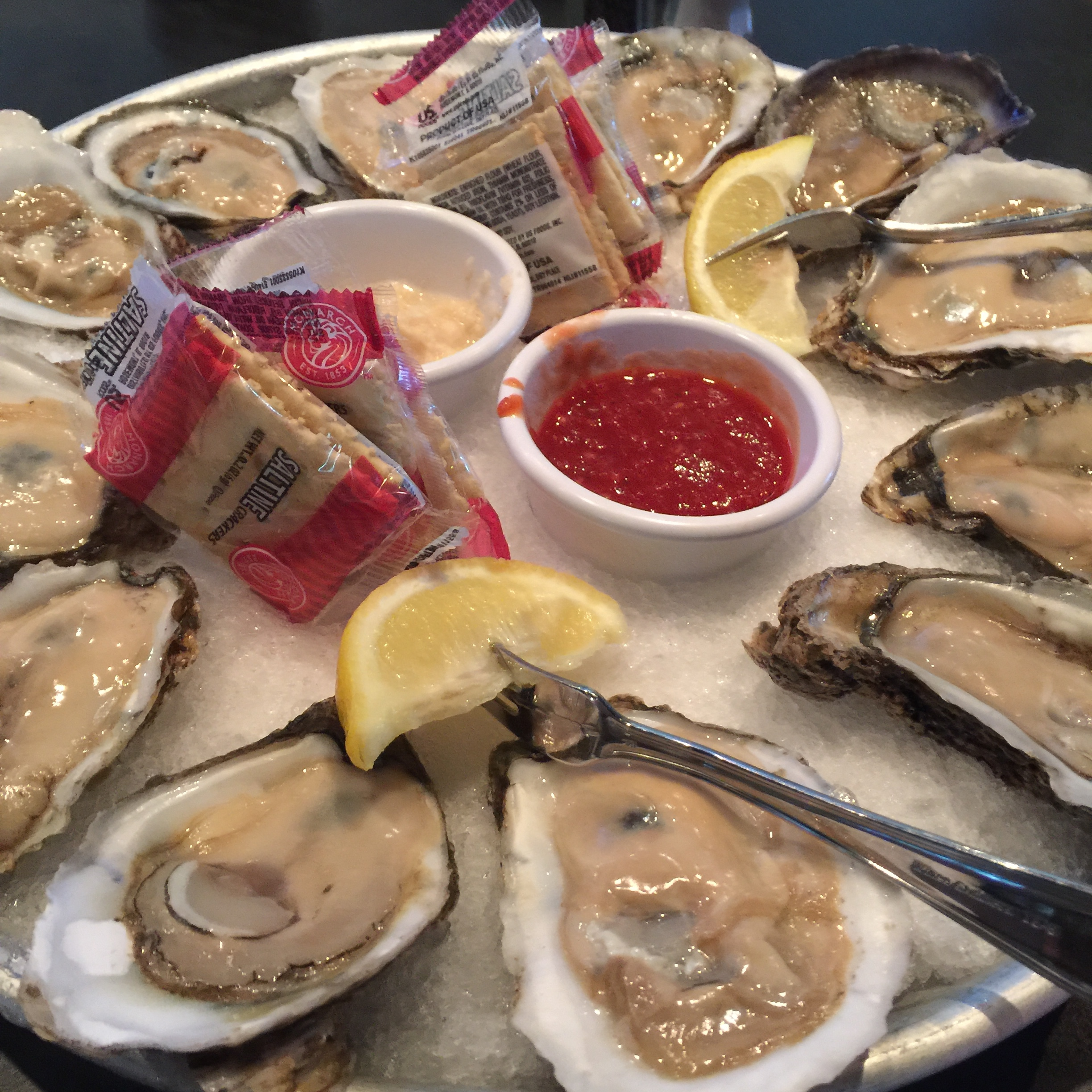 Freshly Shucked Oysters