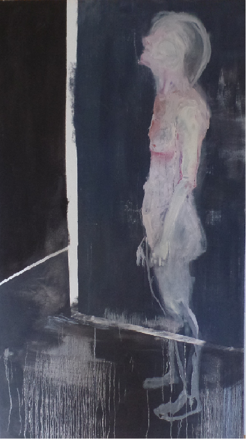 150 x 135cm  oil on canvas