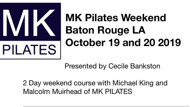 So Excited to bring these wonderful teachers to Baton Rouge! Call now for early bird registration 850-502-7701, email cecile@mkpilates.com #mkpilates #excitingnews #wonderfulteachers #followyourpassion #pilates #ilovepilates #pilatesmat #pilatesequipment #pilatesbatonrouge #batonrougepilates #fit#fitness#workout #workhard #pilatesbody #bestofbatonrouge