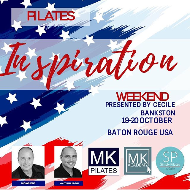 So Happy to bring this to Baton Rouge! Visit www.mkpilates.com for information and registration or contact cecile@mkpilates.com 850-502-7701 #mkpilates #mkpilatesweekend #pilatesbatonrouge #batonrougepilates #fit #pilates #pilatesworkshop #fitness #workout #pilatesbody #pilatesequipment #ilovepilates