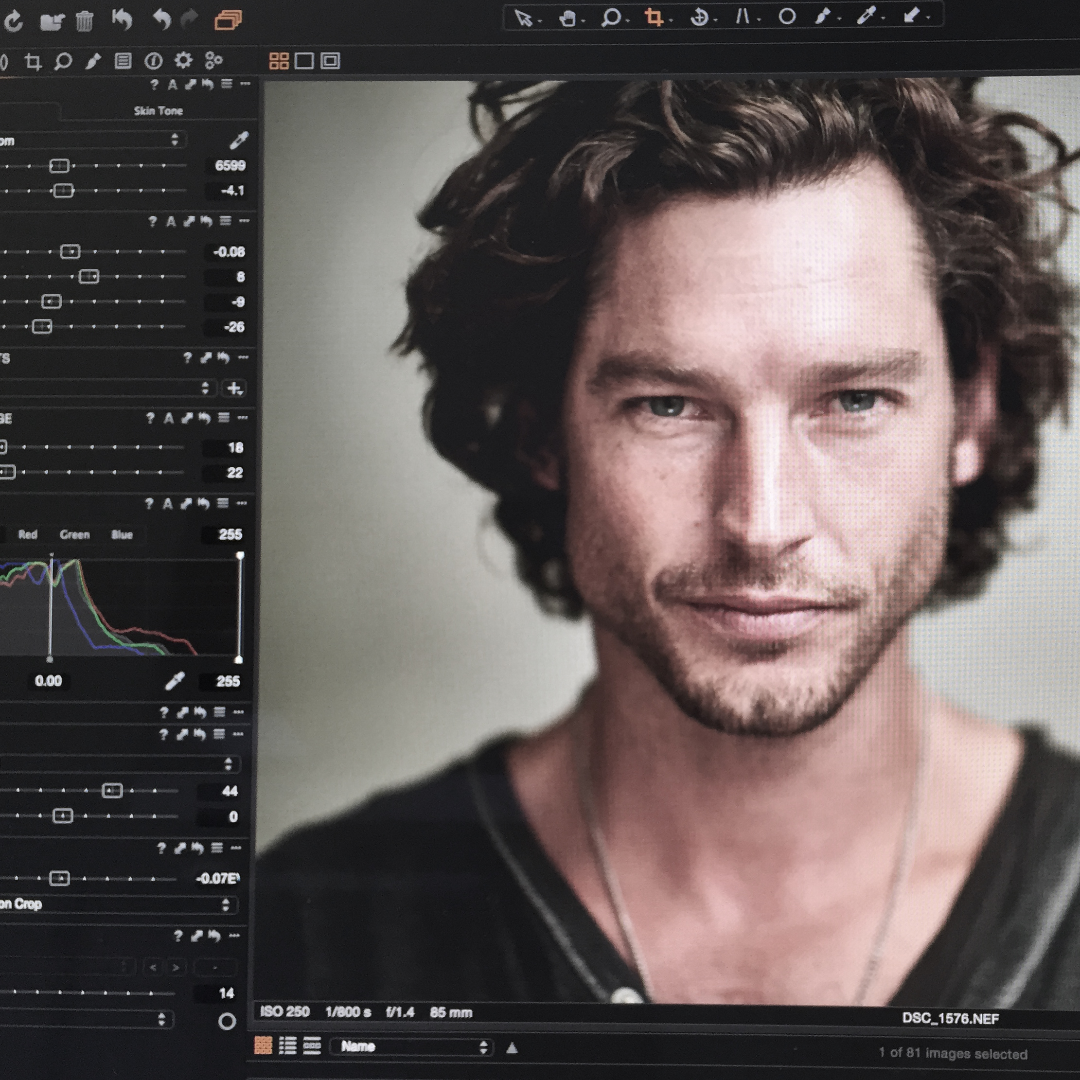 los angeles headshot retouching