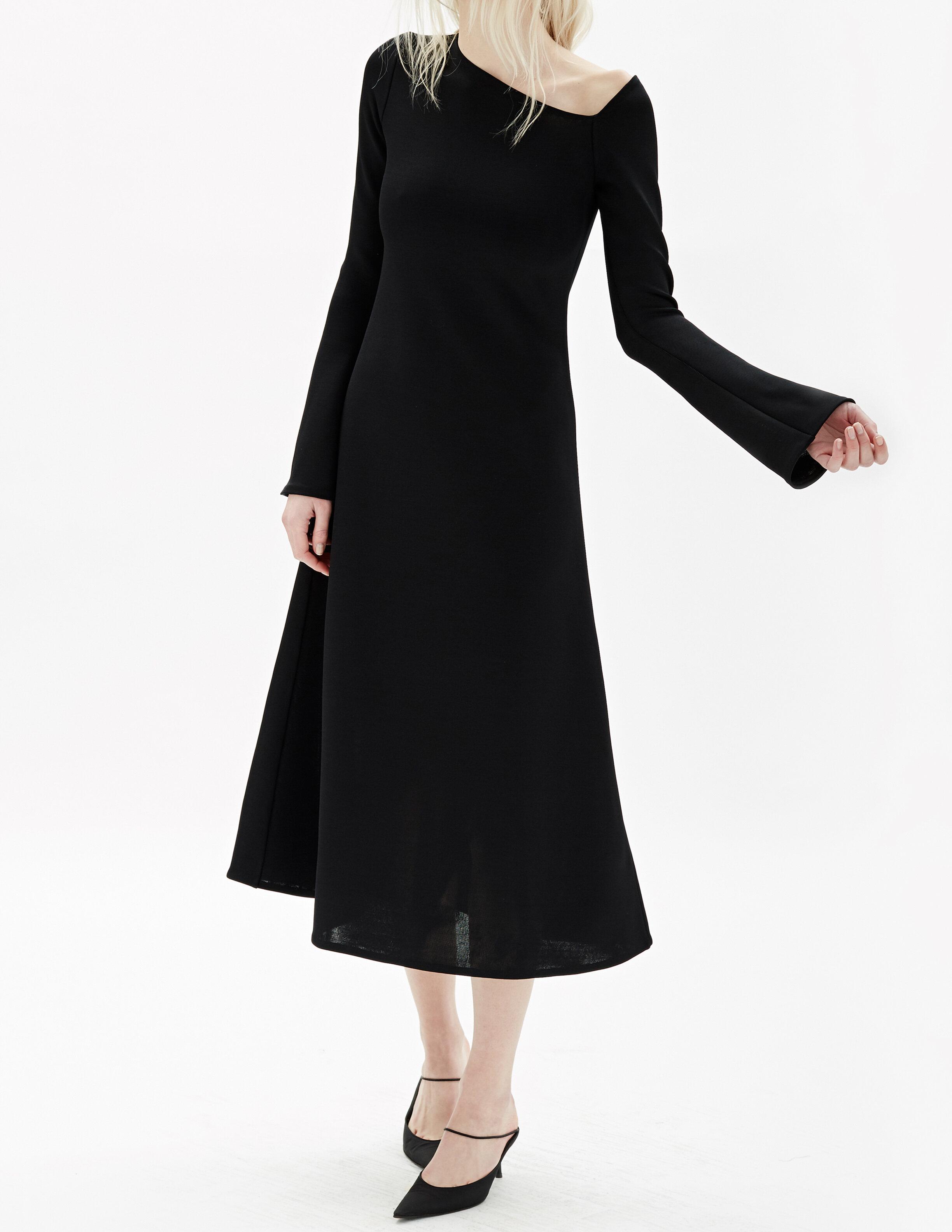 technical knit- dress-black.jpg
