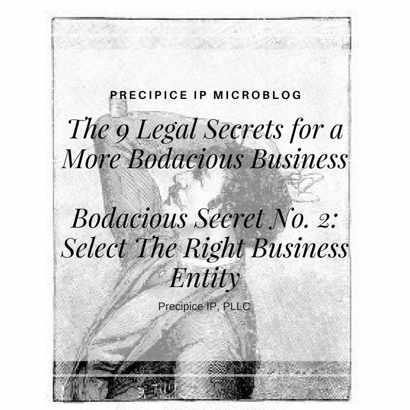 Precipice IP PLLC Bodacious Secret No. 2