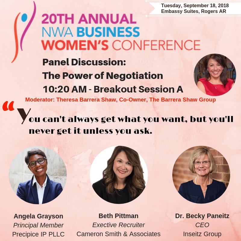 Precipice IP PLLC NWA Women's Business Conference
