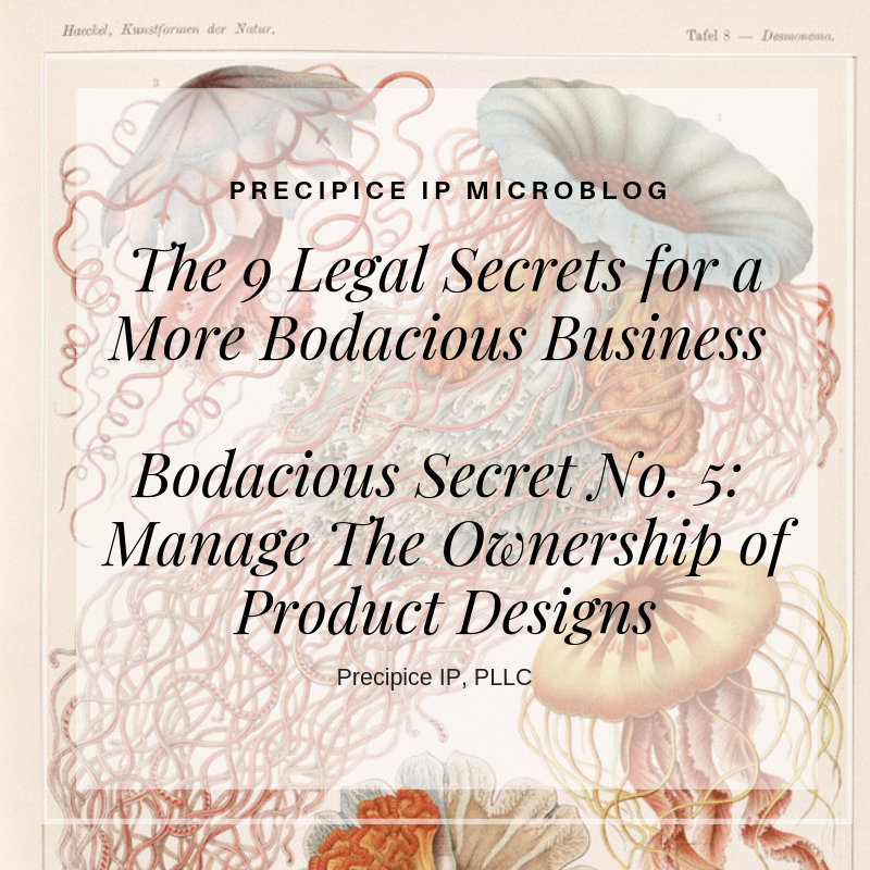 Precipice IP PLLC Bodacious Secret No. 5