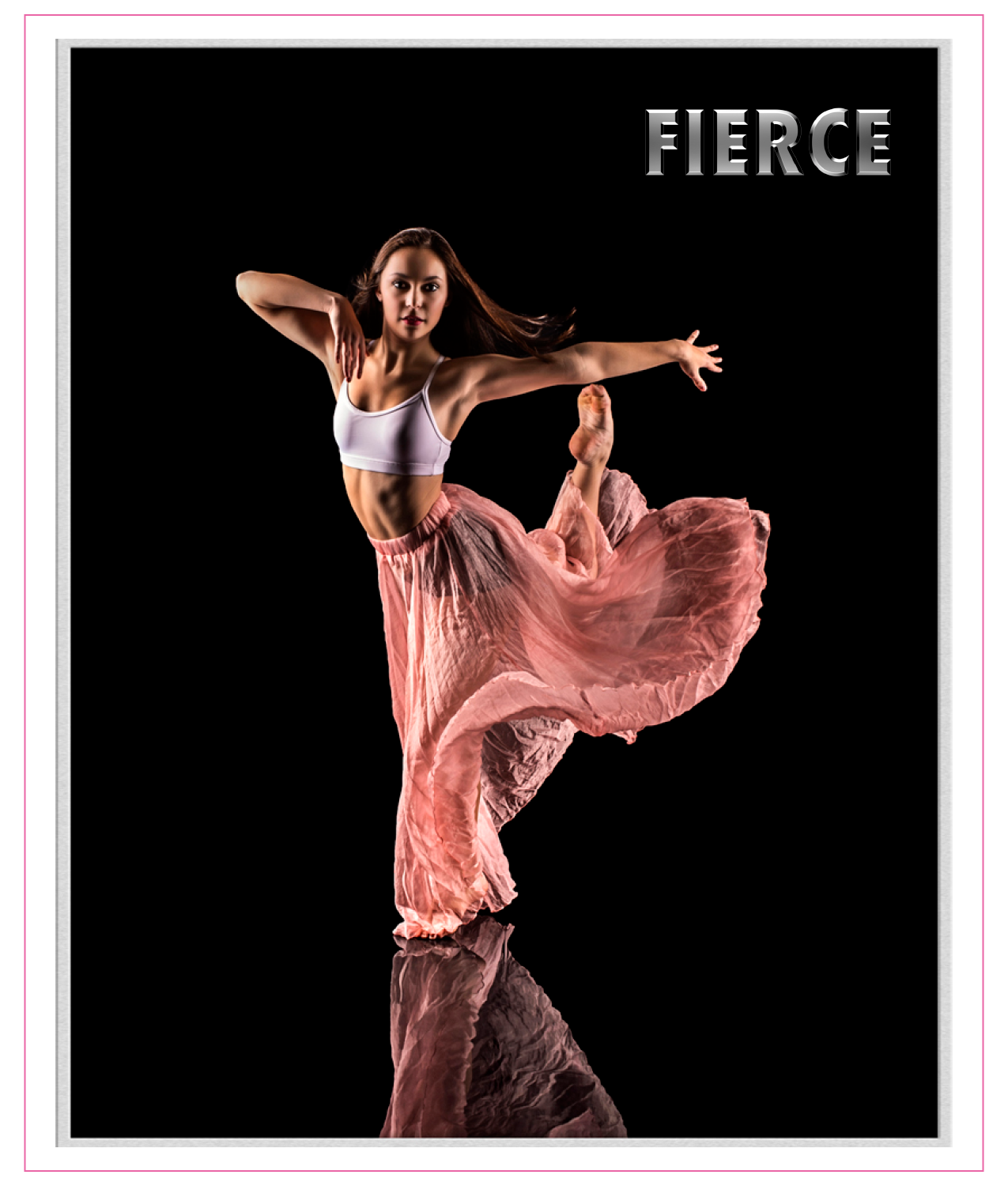 Fierce: The Book by Erica Land. Inspirational quotes and photographic images that will give you the strength and motivation to pursue your dreams.