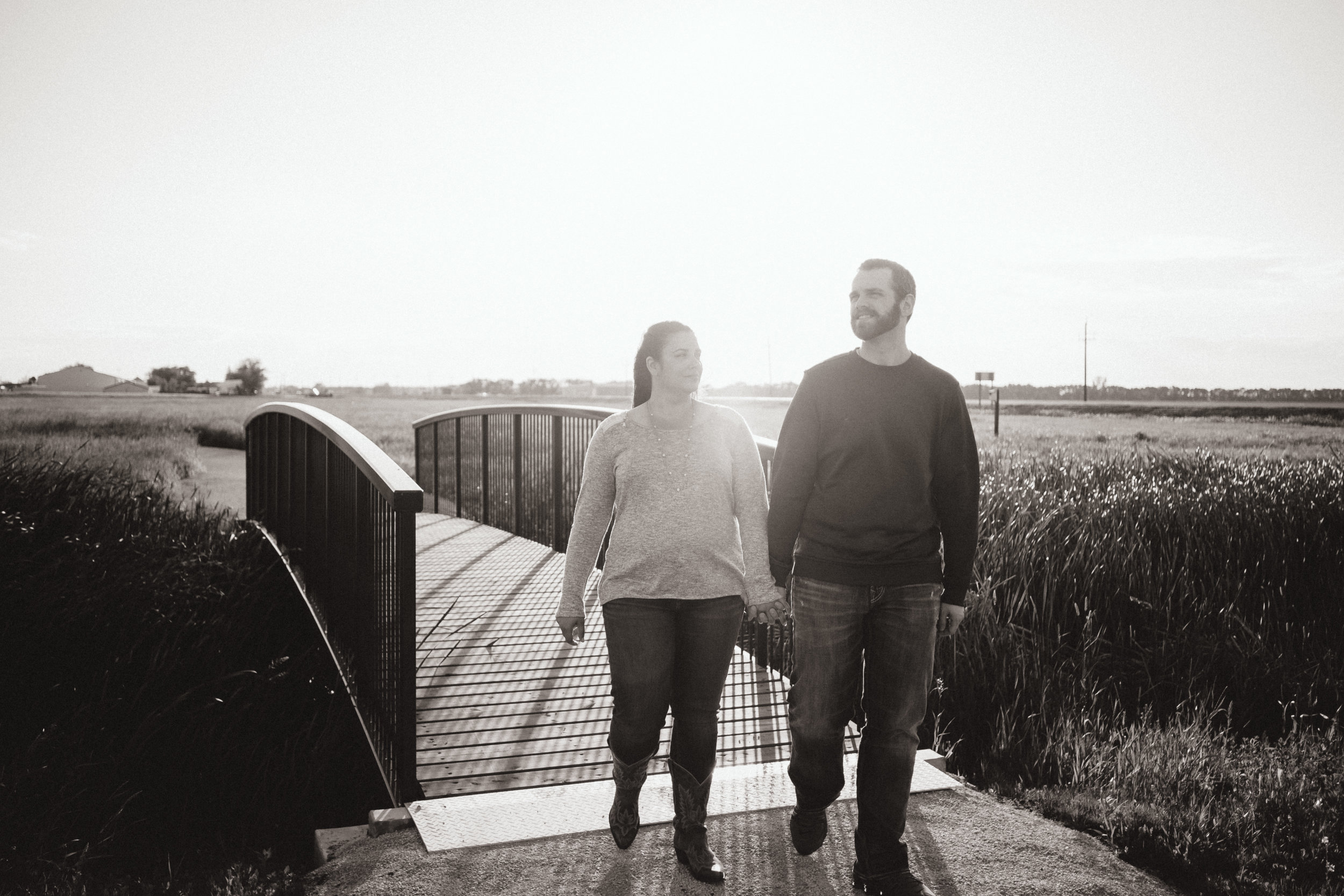 Derrick and Amy, June 2019