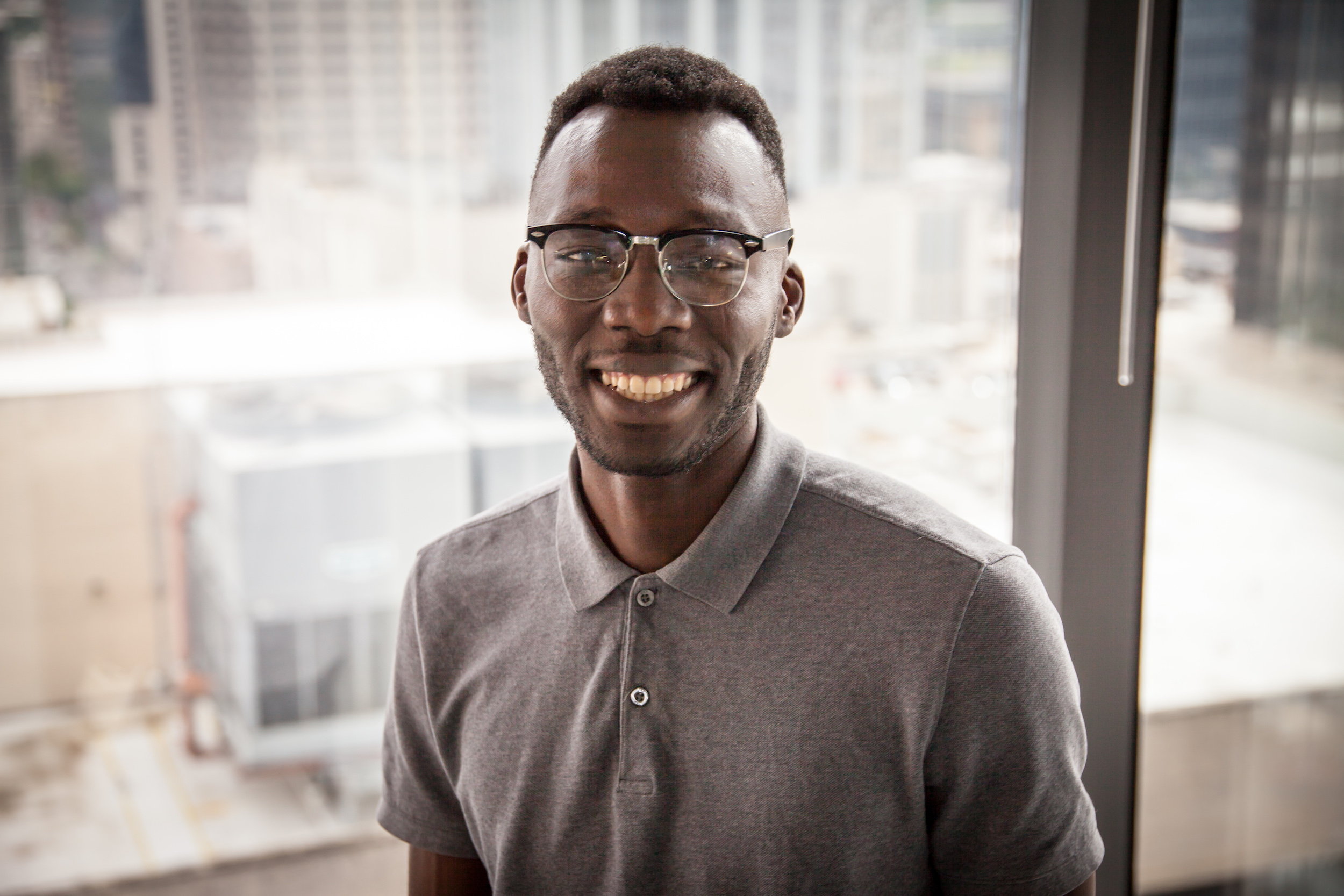Malick Djiba -  Voya    A platform focused on reducing distracted driving by rewarding drivers for staying off the phone on the road.