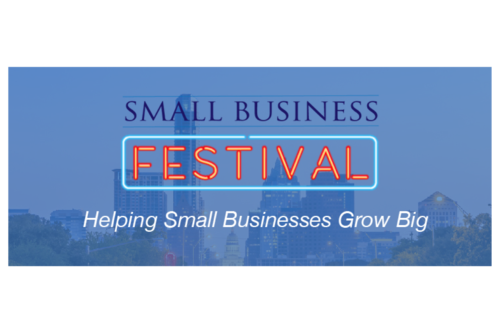 """<a href=http://smallbusinessfestival.org/ target=_blank><span style=""""font-weight: bold;"""">Apply Accelerator Insights to Scale<br>Your Small Business</span><br>Speaker<br>5/5/2017</a>"""