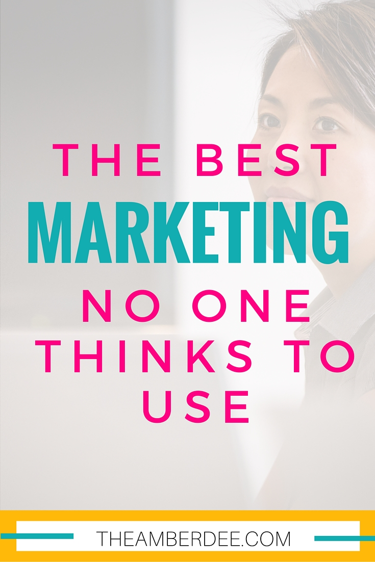 Did you know you might be overlooking this type of marketing?