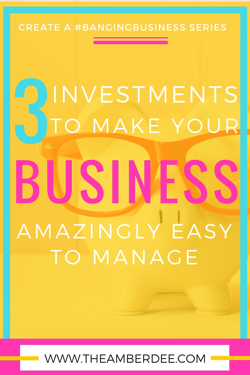 3 Investments you should make in your business